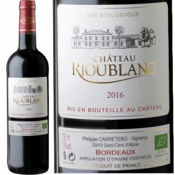 Bordeaux rouge bio 2016