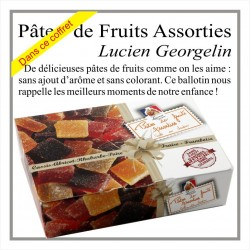 Pâtes de fruits assorties