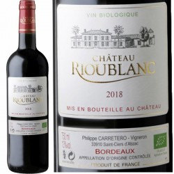 Bordeaux rouge bio 2018
