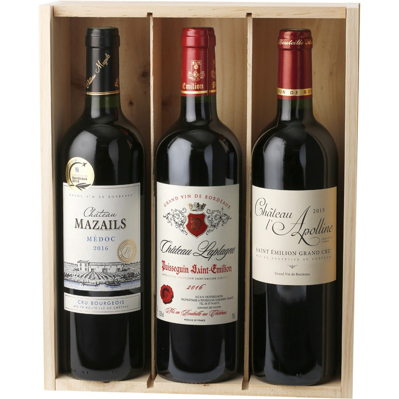 3 Grands Vins de Bordeaux